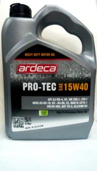Ardeca Pro-Tec 15W40 5L